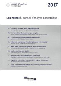 Les notes du Conseil d'analyse économique 2017