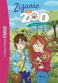 Zizanie au zoo. Volume 1, Bienvenue au zoo !