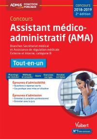 Concours assistant médico-administratif, AMA