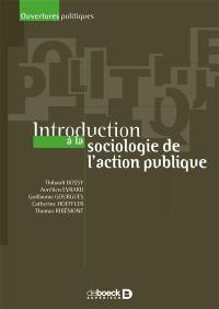 Introduction à la sociologie de l'action publique