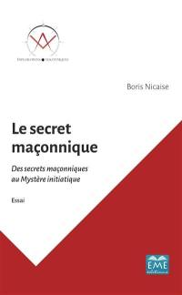 Le secret maçonnique