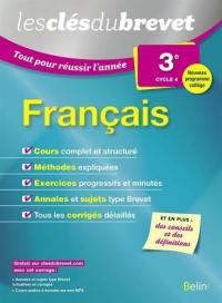 Français 3e, cycle 4