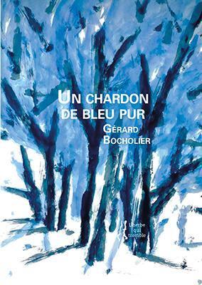 Un chardon de bleu pur