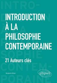 Introduction à la philosophie contemporaine
