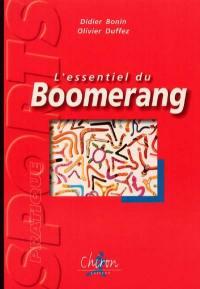 L'essentiel du boomerang