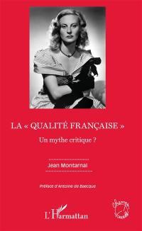 La qualité française