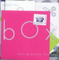 La paper toy box selon Gutenberg networks