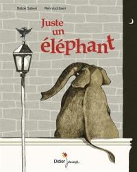 Juste un éléphant