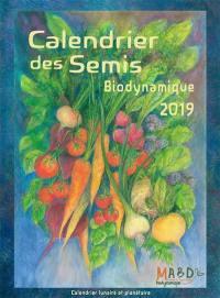 Calendrier des semis 2019, biodynamique