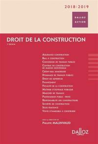Droit de la construction 2018-2019