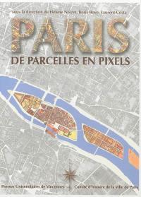 Paris de parcelles en pixels