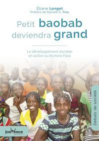 Petit baobab deviendra grand