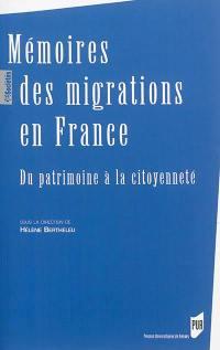 Mémoires des migrations en France