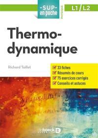 Thermodynamique, L1, L2
