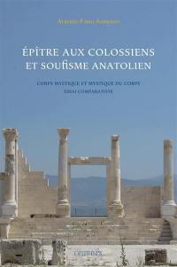 Epître aux Colossiens et soufisme anatolien