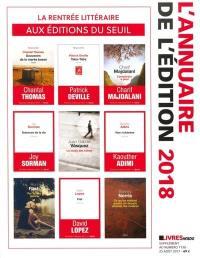 Livres Hebdo, supplément. n° 1138, L'annuaire de l'édition 2018