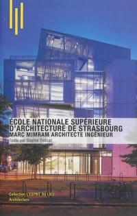 Ecole nationale supérieure d'architecture de Strasbourg