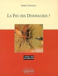 La fin des dinosaures ?