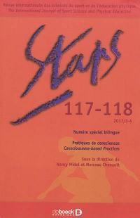 Staps. n° 117-118, Pratiques de consciences = Consciousness-based practices
