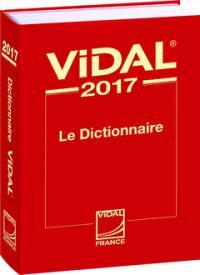 Vidal 2017 : le dictionnaire
