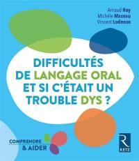 Difficultés de langage oral