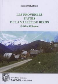 Les proverbes patois de la vallée du Biros