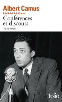 Conférences et discours, 1936-1958