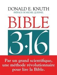 Bible 3.16 en lumière