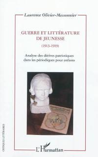 Guerre et littérature de jeunesse (1913-1919)