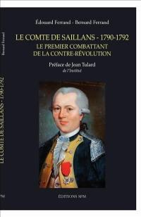 Le comte de Saillans, 1790-1792 : le premier combattant de la contre-révolution