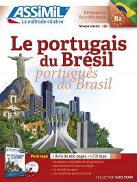 Le portugais du Brésil = Português do Brasil : niveau atteint B2, débutants & faux-débutants : pack MP3