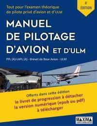 Manuel de pilotage d'avion et d'ULM