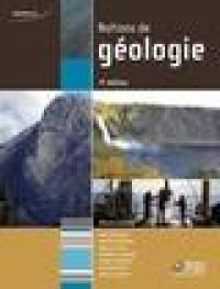 Notions de géologie