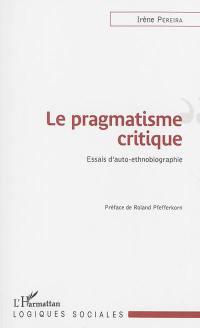 Le pragmatisme critique