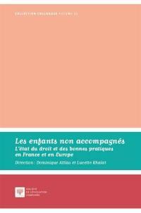 Les enfants non accompagnés : l'état du droit et des bonnes pratiques en France et en Europe : actes du colloque du 13 juin 2016