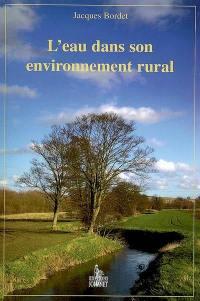 L'eau dans son environnement rural