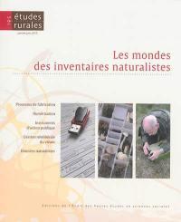 Etudes rurales. n° 195, Les mondes des inventaires naturalistes