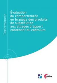 Evaluation du comportement en brassage des produits de substitution aux alliages d'apport contenant du cadmium