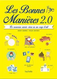 Les bonnes manières 2.0 : le nouveau savoir-vivre en un coup d'oeil