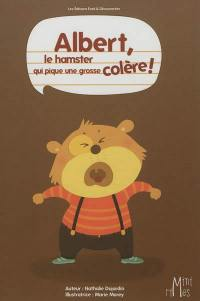 Albert, le hamster qui pique une grosse colère !