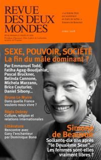 Revue des deux mondes. n° 4 (2018), Sexe, pouvoir, société : la fin du mâle dominant ?
