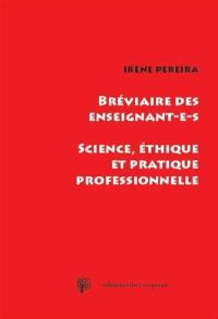 Bréviaire des enseignant.e.s