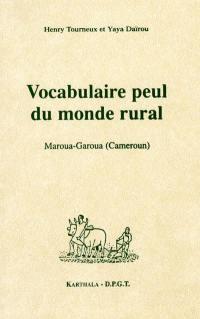 Vocabulaire peul du monde rural