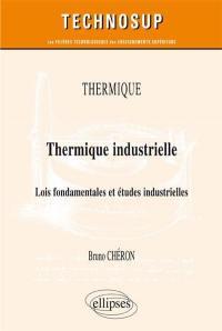 Thermique : thermique industrielle : lois fondamentales et études industrielles