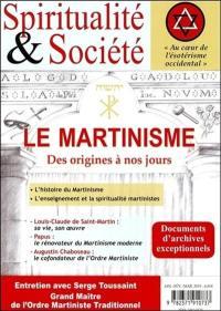 Spiritualité & société, Le martinisme