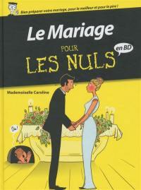 Le mariage pour les nuls en BD