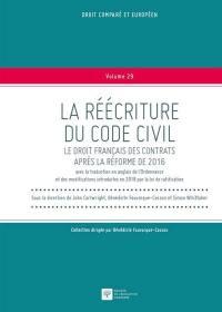 La réécriture du Code civil