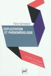 Explicitation et phénoménologie