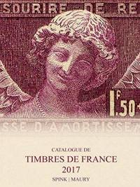 Catalogue de timbres de France : 2017