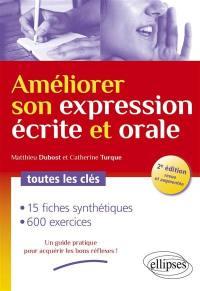 Améliorer son expression écrite et orale